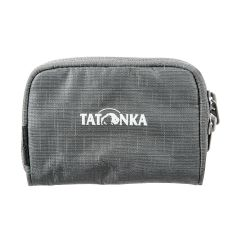 PLAIN WALLET - Porte monnaie zippé Tatonka 3 compartiments