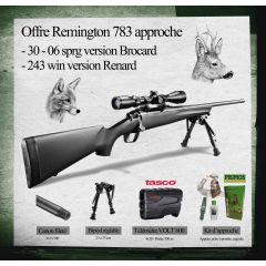 PACK BROCARD REMINGTON 783 C/.30-06 SPRG