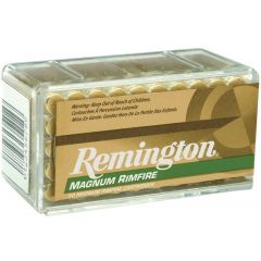CARTOUCHES REMINGTON MAGNUM RIMFIRE C/.22 WIN MAG - 40 GRAINS - JHP