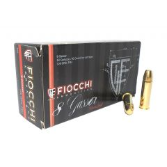 CARTOUCHES FIOCCHI C/8MM GASSER FMJ 126GR