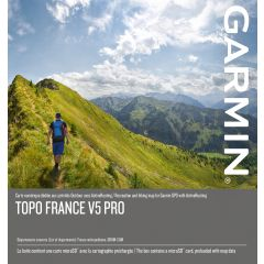 CARTE GARMIN TOPO FRANCE V5 PRO - FRANCE ENTIÈRE + DROM COM
