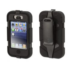 COQUE GRIFFIN SURVIVOR iPHONE 4S - NOIRE