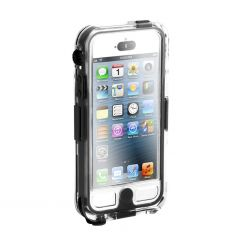 COQUE GRIFFIN SURVIVOR WATERPROOF - iPHONE 5/5S - NOIR/TRANSPARENT