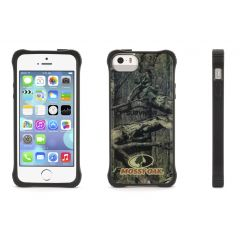 COQUE GRIFFIN SURVIVOR CLEAR iPHONE 5 ET 5S - NOIRE ET CAMO MOSSY OAK BREAK UP INFINITY