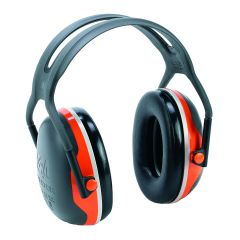 Casque Peltor X4A - Noir/Orange Fluo