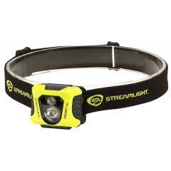 LAMPE FRONTALE STREAMLIGHT ENDURO PRO - JAUNE - LED BLANCHE/ROUGE