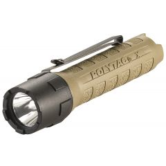 LAMPE STREAMLIGHT POLYTAC X - AVEC PILES - COYOTE