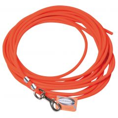 LONGE BIOTHANE TUBULAIRE ORANGE LONG 10 M