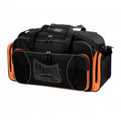 SAC DE SPORT CLUB METAL BOXE - NOIR/ORANGE