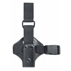 Plaque de cuisse light Safariland - Simple strap articulée - Noir