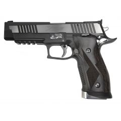 PISTOLET SIG SAUER P226 X-FIVE BLACK & WHITE  C/9 MM LUGER - FACE GAUCHE