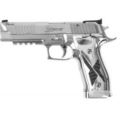 Pistolet Sig Sauer P226 XFIVE C/9mm - Chrome et carbon