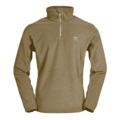 TT PULL POLAIRE IDAHO COL ZIP - SABLE